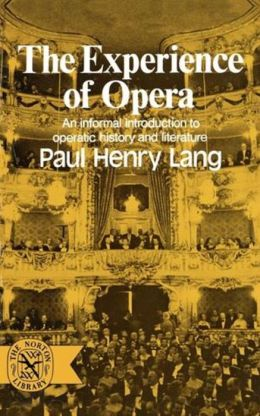 The Experience Of Opera