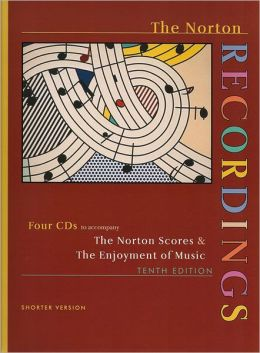Norton Scores and Enjoyment of Music : The Norton Recordings CD Sets - 4 CD's (Sw)