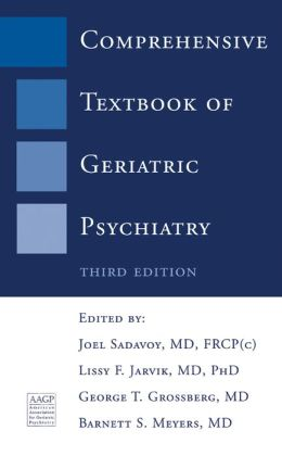 Comprehensive Textbook of Geriatric Psychiatry