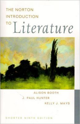 The Norton Introduction to Literature: Shorter Edition