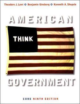 American Government, Core Edition