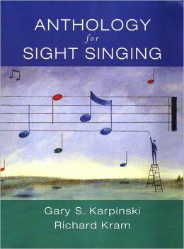 Sightsinging and Ear Training: Anthology