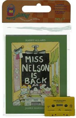 Miss Nelson Is Back Book & Cassette