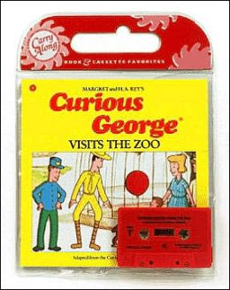 Curious George Visits the Zoo (Book & Cassette)
