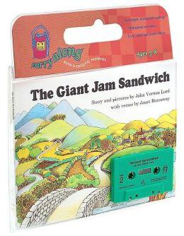 The Giant Jam Sandwich Book & Cassette