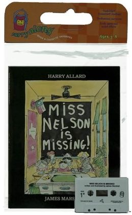 Miss Nelson Is Missing! Book & Cassette