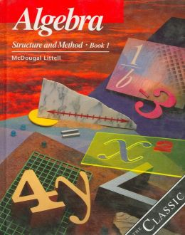 McDougal Littell Structure & Method: Student Edition Book 1 2000