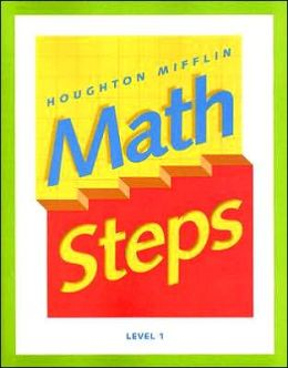 Math Steps: Student Edition Grade 1 2000