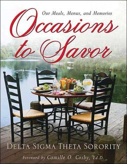Occasions to Savor: Our Meals, Menus, and Memories