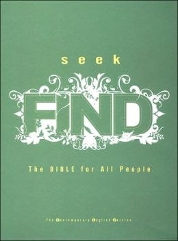 Seek Find: The Bible for All People (Contemporary English Version)
