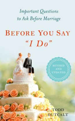Before You Say I Do, Revised