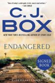 Book Cover Image. Title: Endangered (Signed Book) (Joe Pickett Series #15), Author: C. J. Box