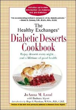 Healthy Exchanges Diabetic Desserts Cookbook