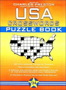 USA Crosswords Puzzle Book #34