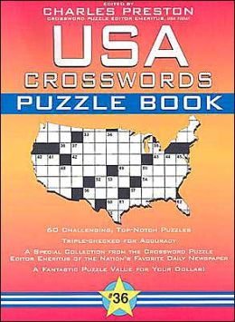USA Crosswords Puzzle Book #36