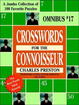 Crosswords for the Connoisseur Omnibus #17