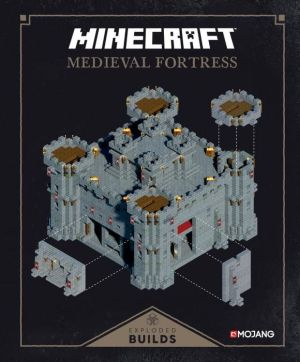 minecraft exploded builds medieval fortress an official mojang book