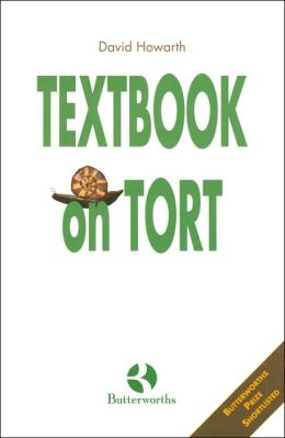 Textbook on Tort: Butterworth's Prize Shortlisted