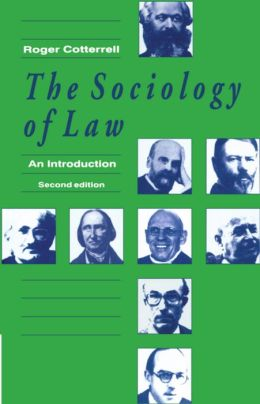 The Sociology of Law: An Introduction