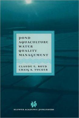 Pond Aquaculture Water Quality Management
