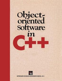 Object-Oriented Software in C++