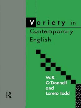 Variety in Contemporary English