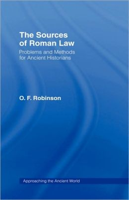 The Sources Of Roman Law