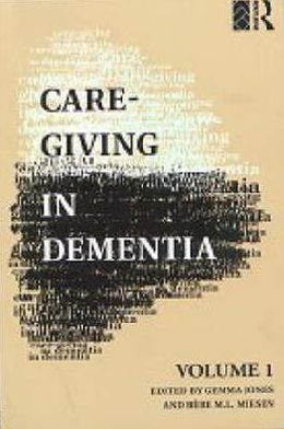 Care-Giving in Dementia: Research and Applications