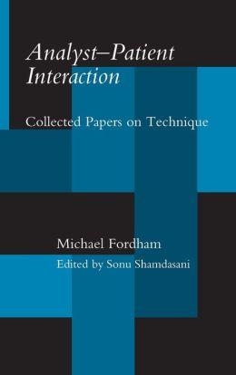 Analyst-Patient Interaction