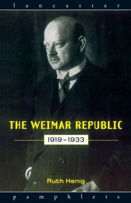 Weimar Republic, 1919-1933