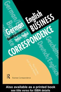 German Business Correspondence