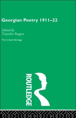Georgian Poetry 1911-22