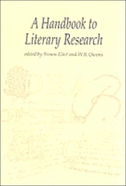Handbook to Literary Research