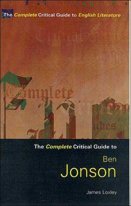 Ben Jonson: A Sourcebook