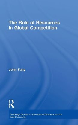 Role of Resources in Global Competition