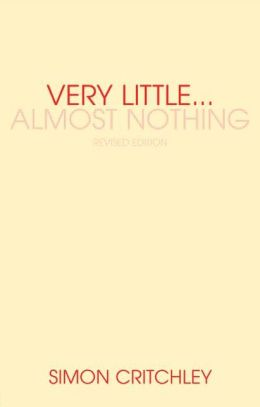 Very Little ... Almost Nothing: Death, Philosophy and Literature