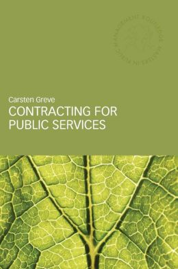 Contracting for Public Services Delivery