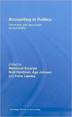 Accounting in Politics: Devolution and Democratic Accountability
