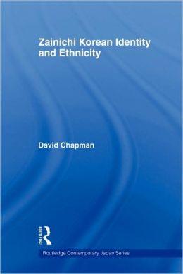 Zainichi Korean Identity and Ethnicity
