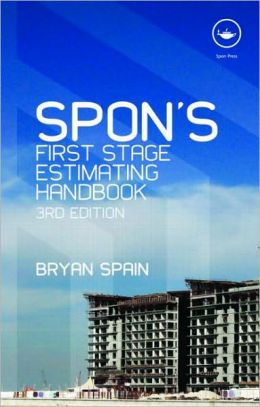 Spon's First Stage Estimating Handbook