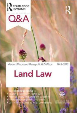 Q&A Land Law 2011-2012