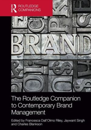 The Routledge Companion to Contemporary Issues in Brand Management