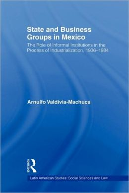 State And Business Groups In Mexico