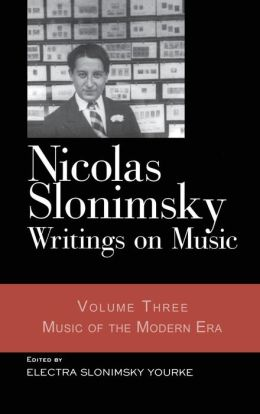 Writings on Music: Music of the Modern Era