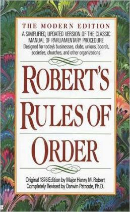 The Official Roberts Rules Of Order Web Site Autos Post