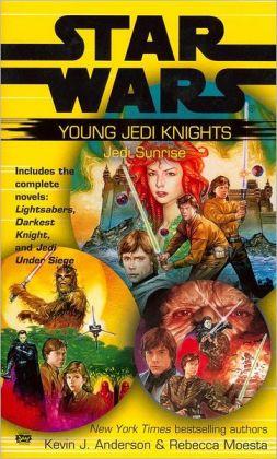 Star Wars Young Jedi Knights: Jedi Sunrise (Lightsabers, Darkest Night, Jedi Under Siege)