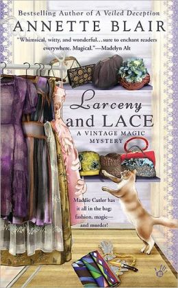 Larceny and Lace (Vintage Magic Series #2)