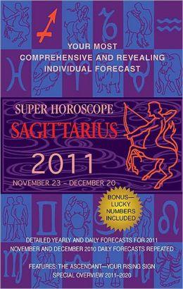 Super Horoscopes Sagittarius 2011