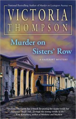 Murder on Sisters' Row (Gaslight Series #13)