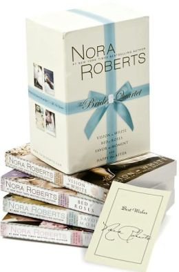 Nora Roberts Bridal Quartet Signed Boxed Set